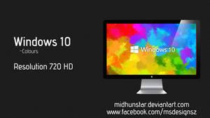 Windows 10 coloured
