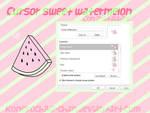 Cursor Sweet Watermelon (con instalador)