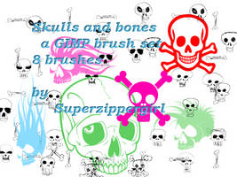 Skulls and Bones by superzippergirl
