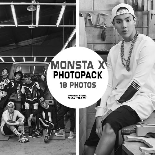 Monsta X Photopack 01 By Butcherplains On Deviantart
