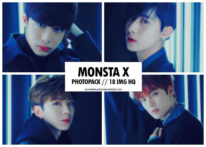 Monsta X - photopack #11 by butcherplains