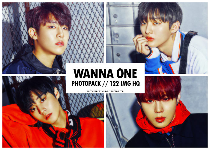Wanna One - photopack #06 by butcherplains