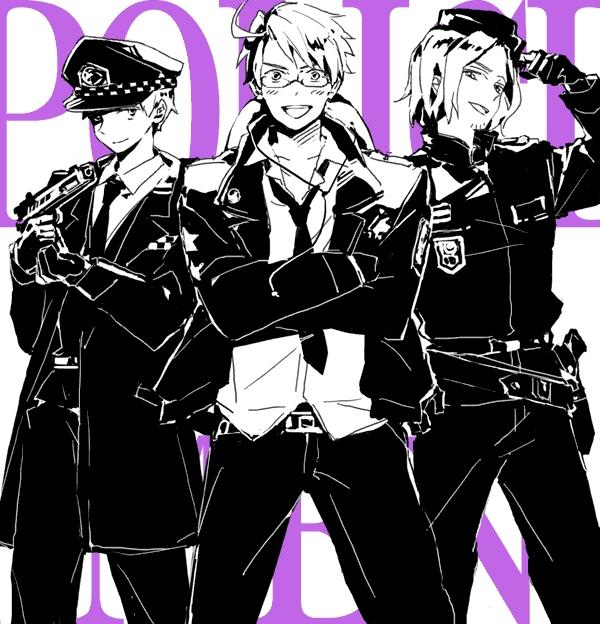 Surrender (Police!Hetalia X Reader X 2p!Hetalia) by ...