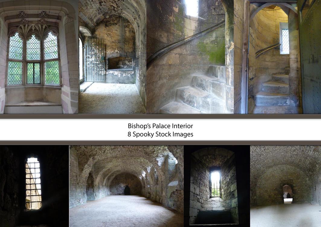 Bishop's Palace Interior Stock by EverildWolfden