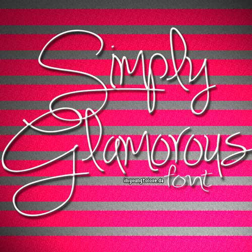 [Download]Simply Glamerous Font Simply_glamerous_font_by_imyoungtolove-d4monfe
