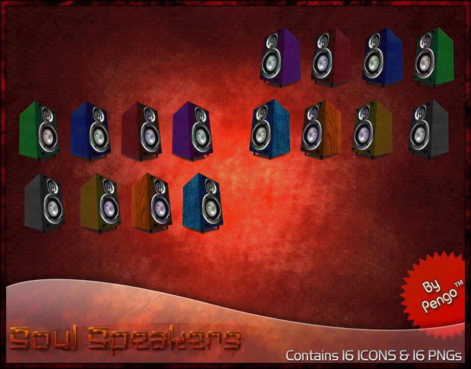 Soul Speakers Set by PengoTM