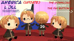 Hetalia MMD_America Doll DL