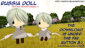 Hetalia MMD_Russia Doll DL