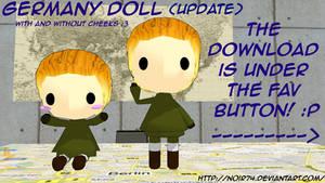 Hetalia MMD_Germany Doll DL