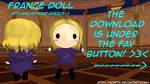 Hetalia MMD_France Doll DL