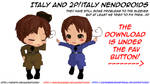 Hetalia MMD_ Italy and 2p! Nendoroids DL