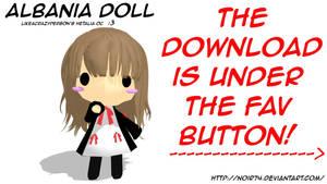 Hetalia MMD Oc_Albania Doll DL