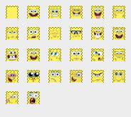 Spongebob smileys for pidgin by spazzPP2