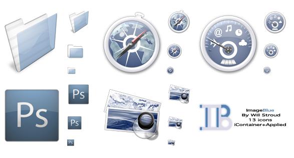 ImageBlue Vol. I Icon Set by willBook