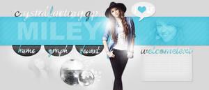 Miley Cyrus PSD