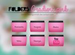 Folders Gradient Pink