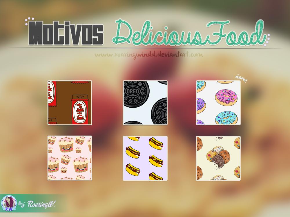 Motivos Delicious Food by RoaringWindd