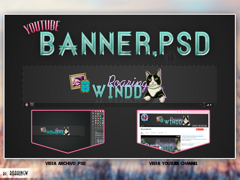 Colorful Yt Banner Template Model - Resume Ideas - dospilas.info