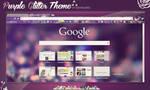 Purple Glitter Theme for Google Chrome