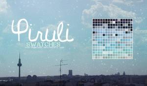 Piruli Swatches