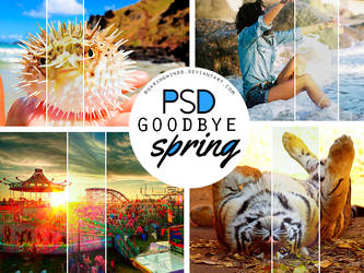 PSD | Goodbye Spring