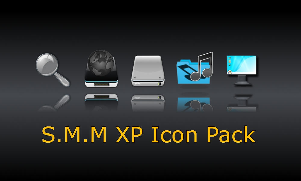 S.M.M XP Icon Pack-dock ver. by SiddharthMaheshwari