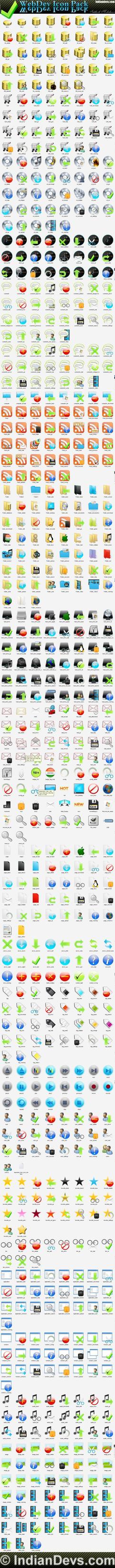 WebDev Icon Pack by SiddharthMaheshwari