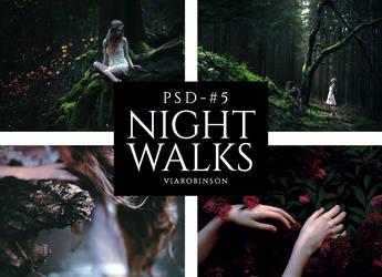 Night Walks - PSD 5 by viarobinson