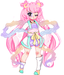 Pastel Girl Challenge (animated) by annikatea