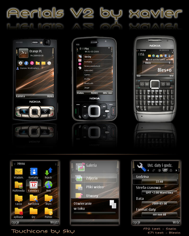 free download symbian themes for nokia e71