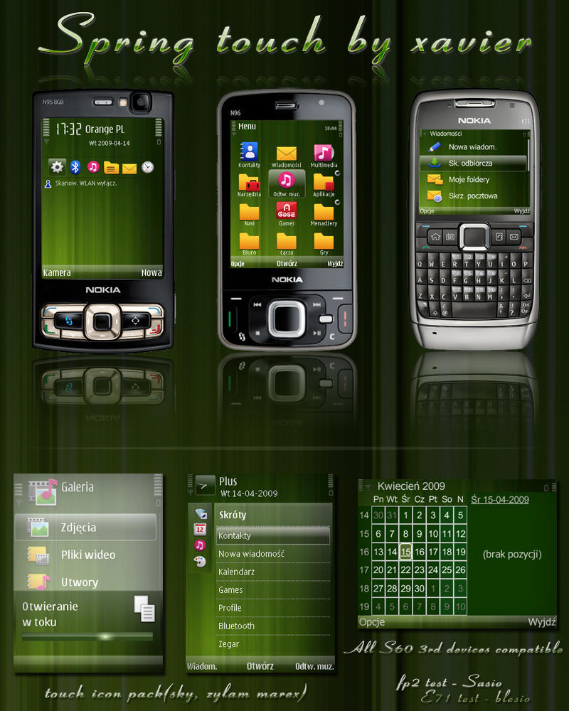 581 nokia themes for symbian s60 3d babinokia mega pack ...