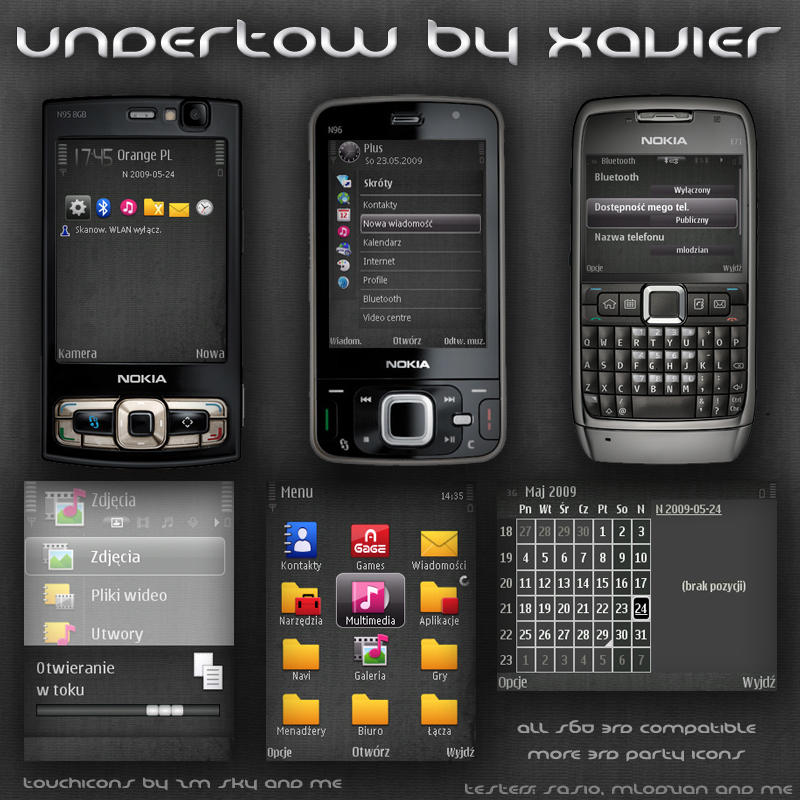 Undertow Symbian theme by Xavier-Themes on DeviantArt