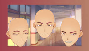 [MMD x Vroid ] Male face dl  #1