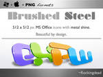 Brushed Steel for MS office 08