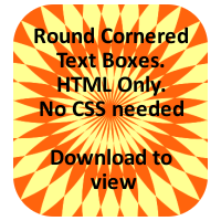 Rounded Corners - HTML only by LightningIsMyName