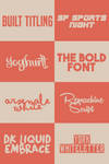 ~ Font Pack 1 - Mysteriousps ~