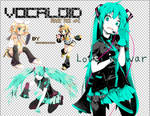 Vocaloid Render Pack #2