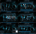 windows 7 theme blue glass (sci fi 2 )