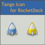 Tango Rocket Dock Icon by DarKobra