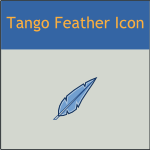 Tango Feather Icon by DarKobra