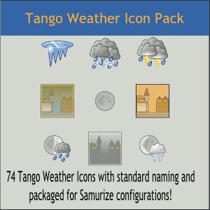 Tango Weather Icon Pack by DarKobra