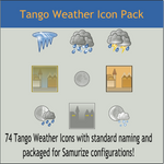 Tango Weather Icon Pack by DarKobra