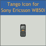 Tango Sony Ericsson W850i Icon by DarKobra