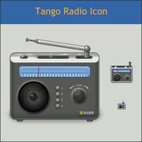 Tango Radio Icon by DarKobra