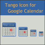Tango Google Calendar Icon by DarKobra