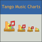 Tango Music Charts Icon by DarKobra