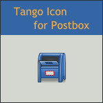 Tango Postbox Icon by DarKobra