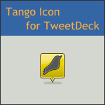 Tango TweetDeck Icon by DarKobra