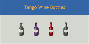 Tango Winebottle Icons by DarKobra