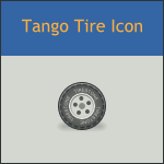 Tango Tire Icon by DarKobra